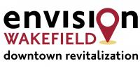 envision wakefield downtown revitalization with map pin