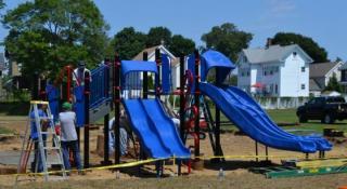 JJ Round park playground equipment