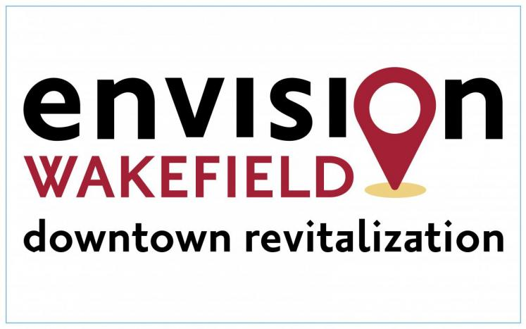 envision wakefield downtown revitalization with map pinpoint