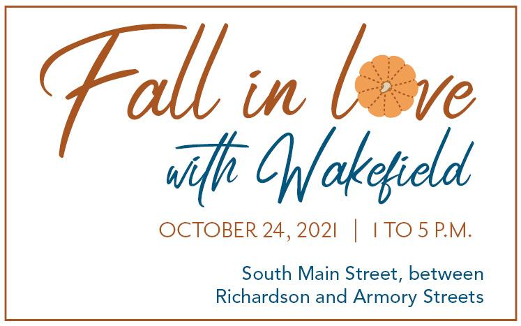 October 24, 2021, 1 to 5 p.m., south main between richardson and armory streets